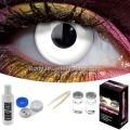 White Out Contact Lens Complete Set