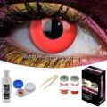Red Out Contact Lens Complete Set