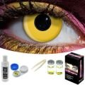 Yellow Contact Lens Complete Set