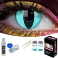 Aqua Cat Contact Lens Complete Set