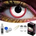 Saw White Contact Lens Complete Set