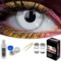 Silver Contact Lens Complete Set