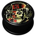 PMMA Ikon flesh plug - Ikon Plug Thirteen Top Hat Skull