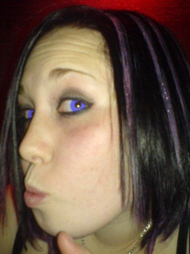 Funky Violet Uv Contact Lenses Buy Jewellery