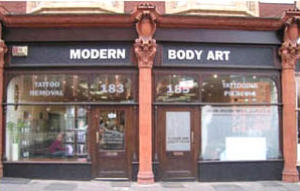 Modern Body Art B4 6rg Piercing Tattoo Studio Directory