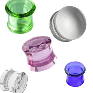 Glass Plugs and Tunnels