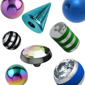 Titanium Balls & Accessories