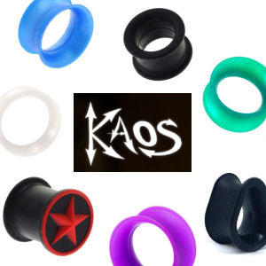 Kaos Flesh Tunnels & Plugs
