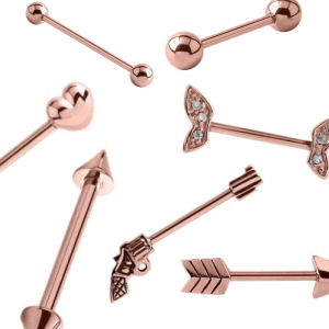 Rose Gold Barbells