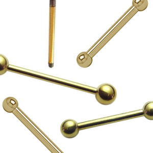 Zircon Gold Barbells