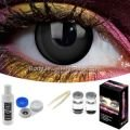 Black Out Contact Lens Complete Set