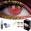 Red Screen Contact Lens Complete Set