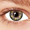 Gray Star Glow Contact Lenses