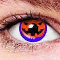 Halloween Pumpkin Contact Lenses