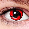 Spooky Kakashi Contact Lenses (Pair)