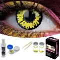 Yellow Werewolf Contact Lens Complete Set