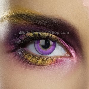 Colour Vision Violet 3 Tone Contact Lenses (Pair)
