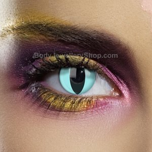Colour Vision Aqua Cat Contact Lenses