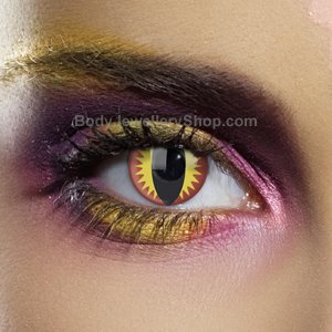 Colour Vision Dragons Eye Contact Lenses (Pair)