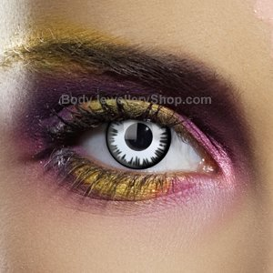 Colour Vision Lunar Eclipse Contact Lenses (Pair)
