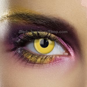 Colour Vision Yellow Contact Lenses (Pair)