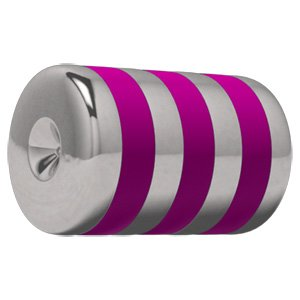 Titanium ART-tech Carousel Clip-In Tropical Cylinder - Pink