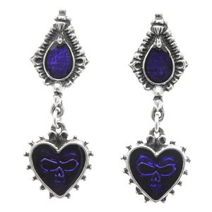 Alchemy Gothic Mirror Of The Soul Stud Earrings (Pair)