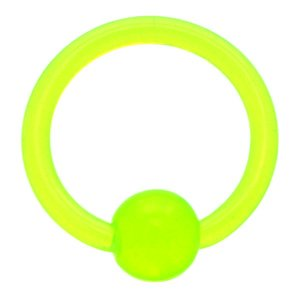 Ultra Violet Ball Closure Ring - Green
