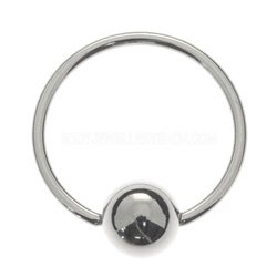 Surgical Steel Ball Closure Ring - 0.8mm