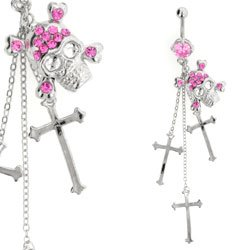Dangle Belly Bar Jewellery