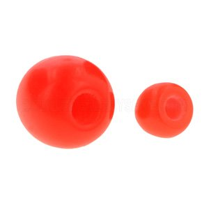 Red BioFlex Push-Fit Ball