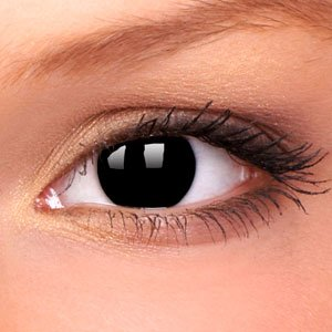Black Out Contact Lenses (Pair)