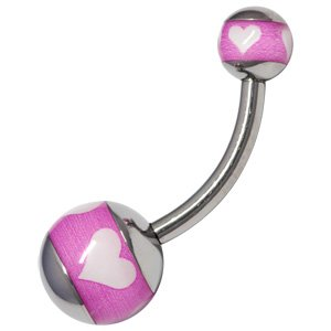 Titanium Belly Button Bar