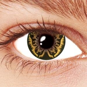 Brown Butterfly Contact Lenses