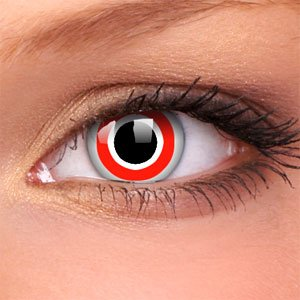 Bulls Eye Crazy Contact Lenses