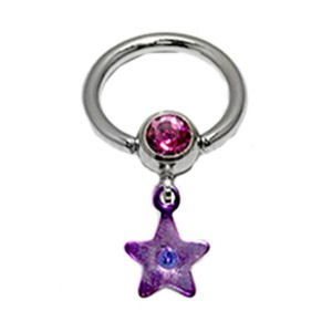 Jewelled Star BCR - Purple