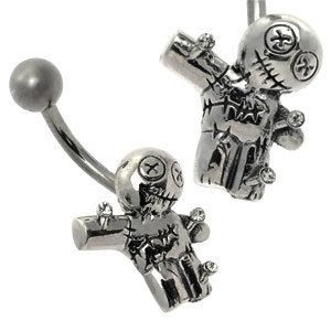 Cute Belly Bar - Voodoo Doll
