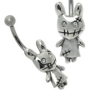 Cute Belly Bar - Zombie Bunny
