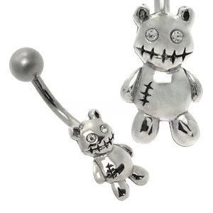 Cute Belly Bar - Zombie Teddy Bear