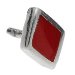 Red and Silver Push-Fit Diamond Accessory