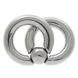 Surgical Steel Double Ball Closure Ring