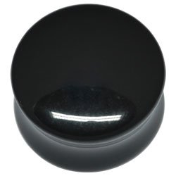 Darkside Black Acrylic Double Flared Flesh Plug