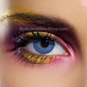 Spooky Blue 3 Tone Contact Lenses (Pair)