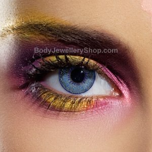 Spooky Mystic Blue Contact Lenses (Pair)