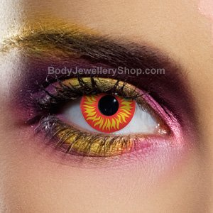 Spooky Wolf Eye Contact Lenses (Pair)