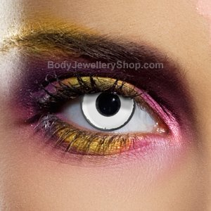 Spooky Zombie Contact Lenses (Pair)