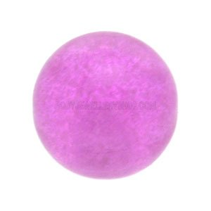 Glow in the Dark Threaded Ball - Purple