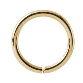 Gold Plated Seamless Ring