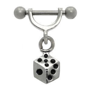 Helix Barbell Stirrup - Dice