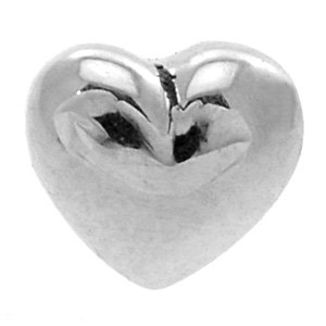 Internally Threaded Steel Heart - Large
